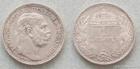 Stříbrná koruna Františka Josefa I. 1914 K.B. koruna
