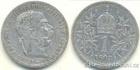 Stříbrná koruna Františka Josefa I. 1895 koruna