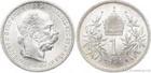 Stříbrná koruna Františka Josefa I. 1894 koruna