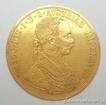 Zlatá mince čtyřdukát Františka Josefa I. 1912 4 dukát