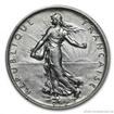 Stříbrný francouzský nový 5 frank-Rozsévačka 5 frank