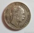 Stříbrný 1 zlatník Františka Josefa I. 1877 1 zlatník