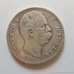 Stříbrná italská 2 lira Umberto I. 1881 2 lira