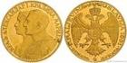 Zlatý jugoslávský 4 dukát Alexandr I. 1931 4 dukát