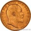 Zlatý britský Sovereign-Edward VII. 1902-1910 sovereign
