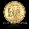 Zlatá mince antilopa Oryx-1976 Súdán 1 Oz