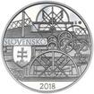 2018 - 10 € - Plavba prvého parníka na Dunaji v Bratislave – 200. výro