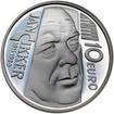 2011 - 10 € - Ján Cikker - 100. výročie narodenia Ag b.k.