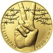 17. listopad 1989 - zlato 1/2 Oz b.k.