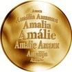 Česká jména - Amálie - zlatá medaile