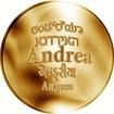 Česká jména - Andrea - zlatá medaile