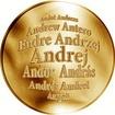 Česká jména - Andrej - zlatá medaile