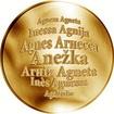 Česká jména - Anežka - zlatá medaile