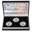 BEDŘICH HROZNÝ – návrhy mince 200,-Kč - sada tří Ag medailí 1 Oz Proof