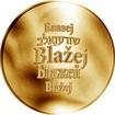 Česká jména - Blažej - zlatá medaile