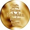 Česká jména - Bohdan - zlatá medaile