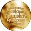 Česká jména - Bronislava - zlatá medaile