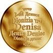 Česká jména - Denisa - zlatá medaile