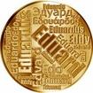 Česká jména - Eduard - velká zlatá medaile 1 Oz