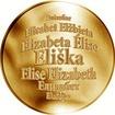 Česká jména - Eliška - zlatá medaile