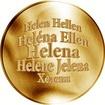 Česká jména - Helena - zlatá medaile