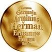 Česká jména - Heřman - zlatá medaile