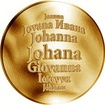 Česká jména - Johana - zlatá medaile
