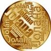 Česká jména - Jolana - velká zlatá medaile 1 Oz