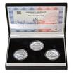 MOST V KARVINÉ-DARKOVĚ – návrhy mince 5000,-Kč sada tří Ag medailí 1 O