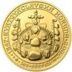 660 let od Korunovace Karla IV. českým králem  - zlato b.k.