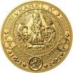 Nejkrásnější medailon II. Královská pečeť - 1 kg Au b.k.