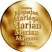 Česká jména - Marián - zlatá medaile