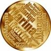 Česká jména - Marina - velká zlatá medaile 1 Oz