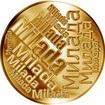 Česká jména - Milada - velká zlatá medaile 1 Oz