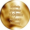 Česká jména - Mojmír - zlatá medaile