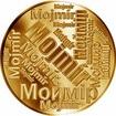 Česká jména - Mojmír - velká zlatá medaile 1 Oz