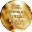 Česká jména - Monika - zlatá medaile