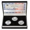MOST V NÁMĚŠTI NAD OSLAVOU – návrhy mince 5000,-Kč sada tří Ag medailí