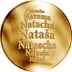 Česká jména - Nataša - zlatá medaile