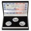 NEGRELLIHO VIADUKT V PRAZE – návrhy mince 5000,-Kč sada tří Ag medailí
