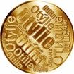 Česká jména - Otýlie - velká zlatá medaile 1 Oz