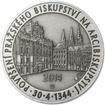 Povýšení pražského biskupství na arcibiskupství - 670 let - 28 mm stří