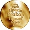 Česká jména - Prokop - zlatá medaile