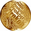 Česká jména - Prokop - velká zlatá medaile 1 Oz