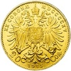 Investiční zlato - Zlatá mince - 20 Korun