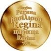 Česká jména - Regína - zlatá medaile