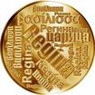 Česká jména - Regína - velká zlatá medaile 1 Oz