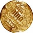 Česká jména - Sabina - velká zlatá medaile 1 Oz
