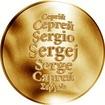 Česká jména - Sergej - zlatá medaile