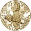 Slavnost Svantovítova zlatý dukát Proof